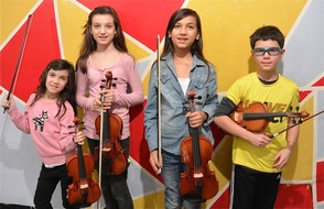 Youth Orchestras of Essex County musicians performing Saturday