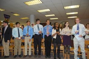 Millburn High School Inducts New Peer Leaders, photo 1