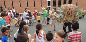 Field Station: Dinosaurs Visits SCLS