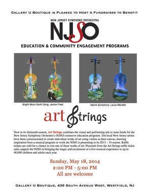 Art Strings: A Fundraiser to Benefit NJ Symphony Orchestra's Education and Community Engagement Programs