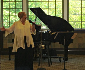 Naomi Miller's Cabaret Performance
