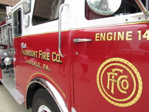 Happy 125th Fairmount Fire Co.: Movies, Open Houses, New Engine and A Car Show, photo 1