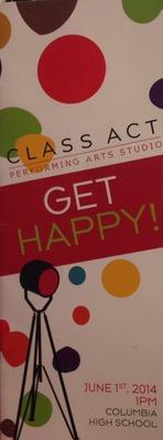 Class Act Playbill
