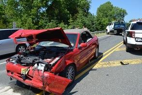 Accident involving Sparta High School Students