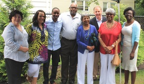 Roselle Community Joins Dr. Polk Family and Plants Time Capsule, photo 7