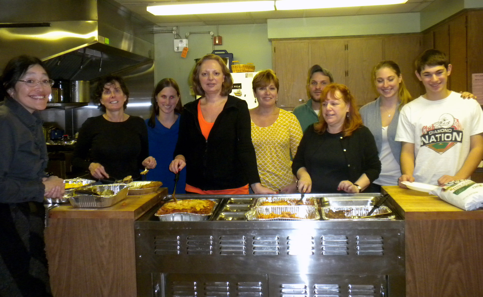 Chai Center for Jewish Life Volunteers at Soup Kitchen - News ...