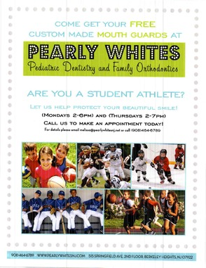 Free Custom Mouthguards To Student Athletes From Pearly Whites Pediatric Dentistry  , photo 1