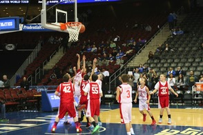 7th Grade Travel Basketball Team Plays at Seton Hall University Game, photo 2