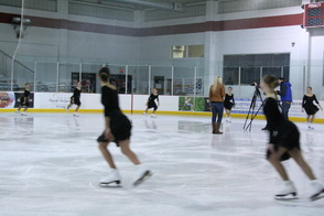 The Synchoettes Skate Around Samantha