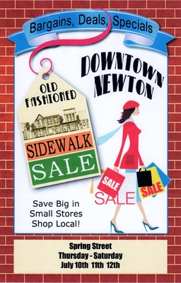 Spring Street's Sidewalk Sale, photo 1