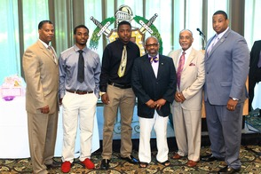 Omega Psi Phi Fraternity Presents Book Scholarships to Students of Paterson Eastside and Kennedy High School, photo 1