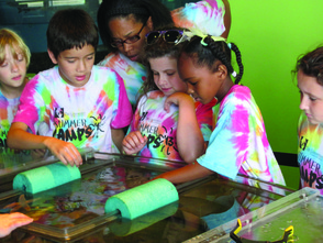 Travel Campers on their trip to Liberty Science Center