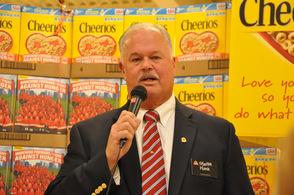 General manager Hank Ramberger.