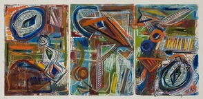 Monoprints by Andrea Epstein of Berkeley Heights on Exhibit at Pearl Street Gallery, photo 3