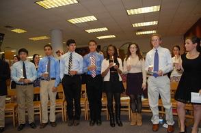 Millburn High School Inducts New Peer Leaders, photo 3