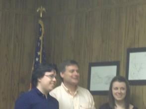 Mark Gillespie,Richard Mattessich,Kristin Hauge(left to right)