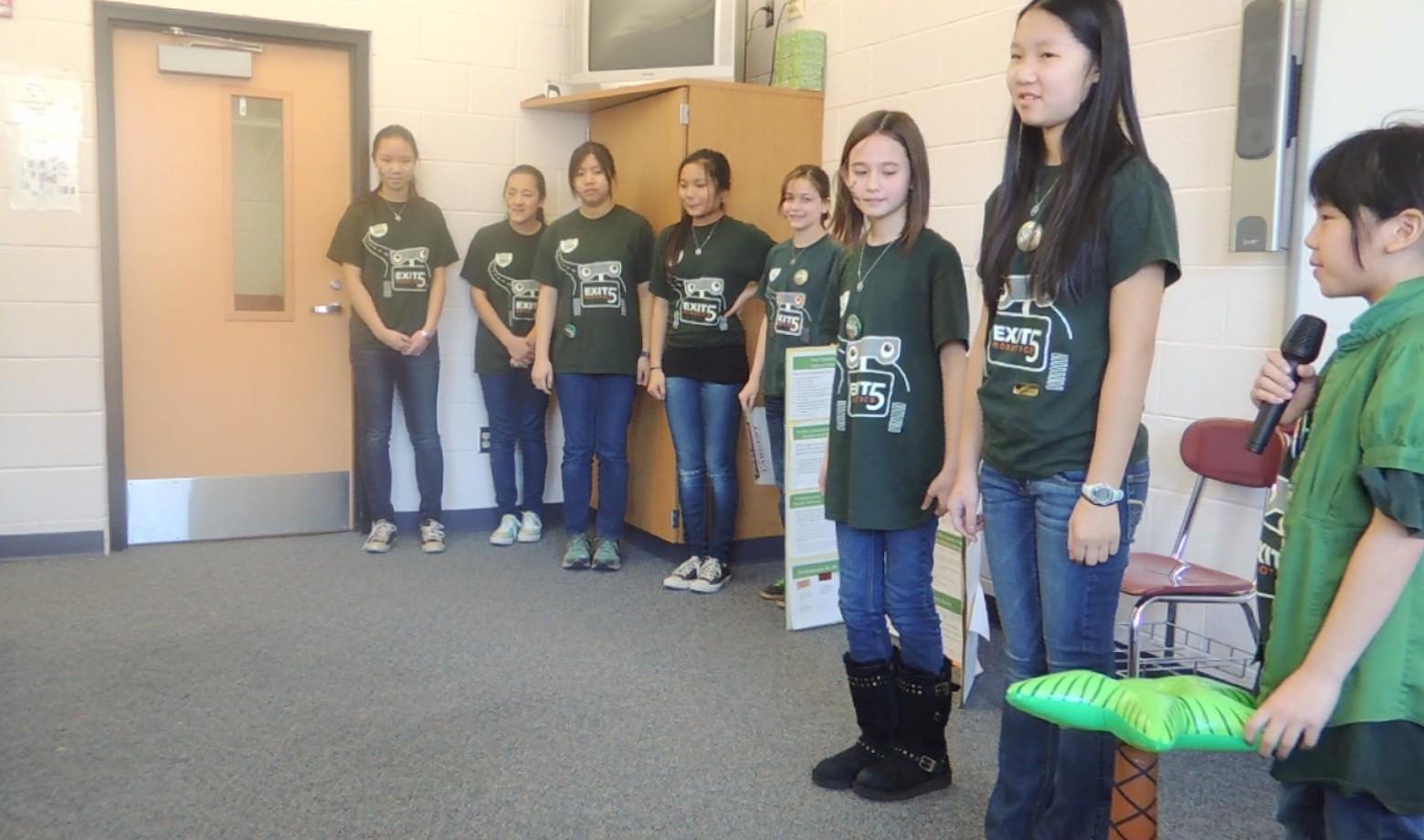 Livingston's Exit 5 Robotics Wins Third Consecutive NJ State FLL Champion's Award