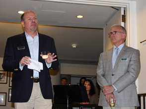 Todd Schmidt and Mark Hoebee of Paper Mill Playhouse