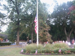 The flag at half mass.