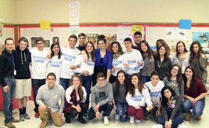 Italian exchange students visit SPF HS