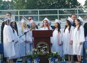 ALJ Choir Performs the National Anthem