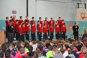 American Boychoir 'Wows' Randolph Elementary Schools, photo 2