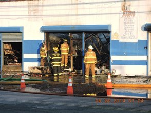 Early Morning Fire Guts Meat City, photo 3