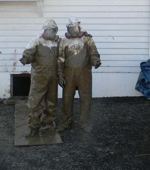 Muddy suits