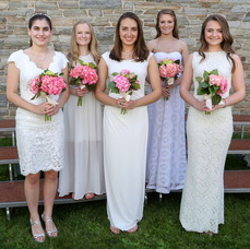 Madison residents (back row, l-r) Erin Romano, Erin Whitehorn, (front row, l-r) Allison Berger, Katherine Uhlman and Caroline Lewis