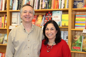 Jonah Zimiles and Lisa Matalon of Words Bookstore