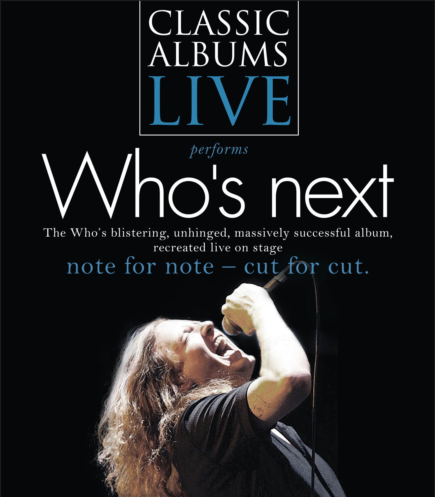Image result for classic albums live THE WHO - who's next