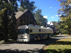 Blood Center of NJ's Bloodmobile at United Presbyterian Church of West Orange