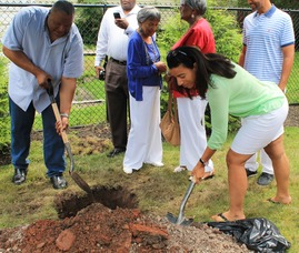 Roselle Community Joins Dr. Polk Family and Plants Time Capsule, photo 24