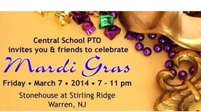 Central School PTO Invites The Community To Celebrate Mardi Gras On March 7, photo 1