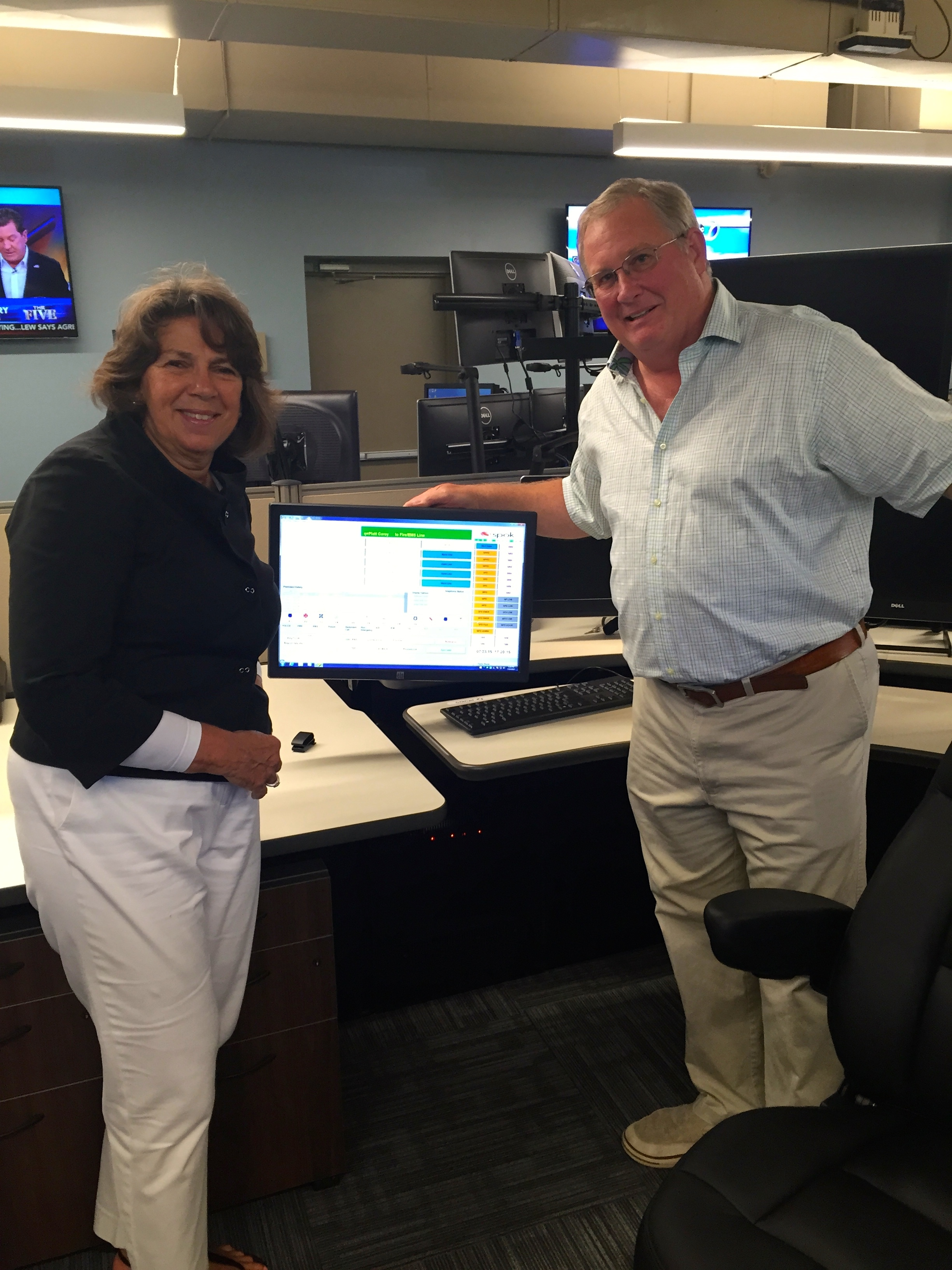 New Shared Dispatch Center Holds Open House in New Providence