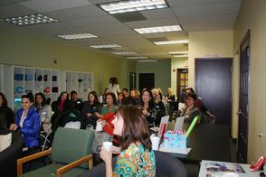 Full House at LIvingston's BIG Meeting
