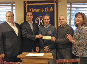 Check presentation to Randolph Township