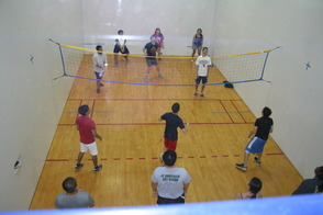 Volleyball at Project Graduation 2014