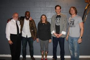 Harold Bobrow, Emeka Onugha, Anna Winkler, David Robinson and Tim Reynolds