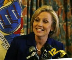 "Acting Governor Kim Guadagno ""Giddy"" and ""Gleeful"", photo 1"