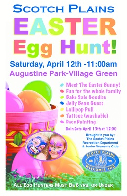 Scotch Plains Annual Easter Egg Hunt