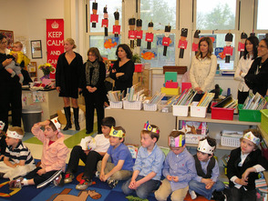Westfield Kindergarteners Host Royal English Tea, photo 1