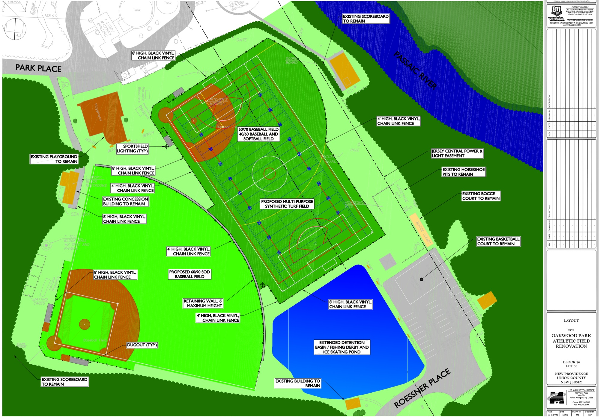 New Providence Borough Council to Proceed with Oakwood Park Project