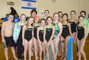 JCC Barracudas Swim Team placed 2nd at the JCC States, photo 1