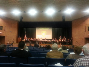 Public Meeting Presents Plan for Police Merger, photo 1