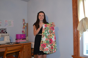 Young Fashionista 'Seriously' Sews for Bottle Hill Day, photo 3