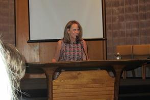 Author Laura Schroff Speaks at B'nai Abraham