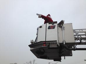 Santa Final Approach