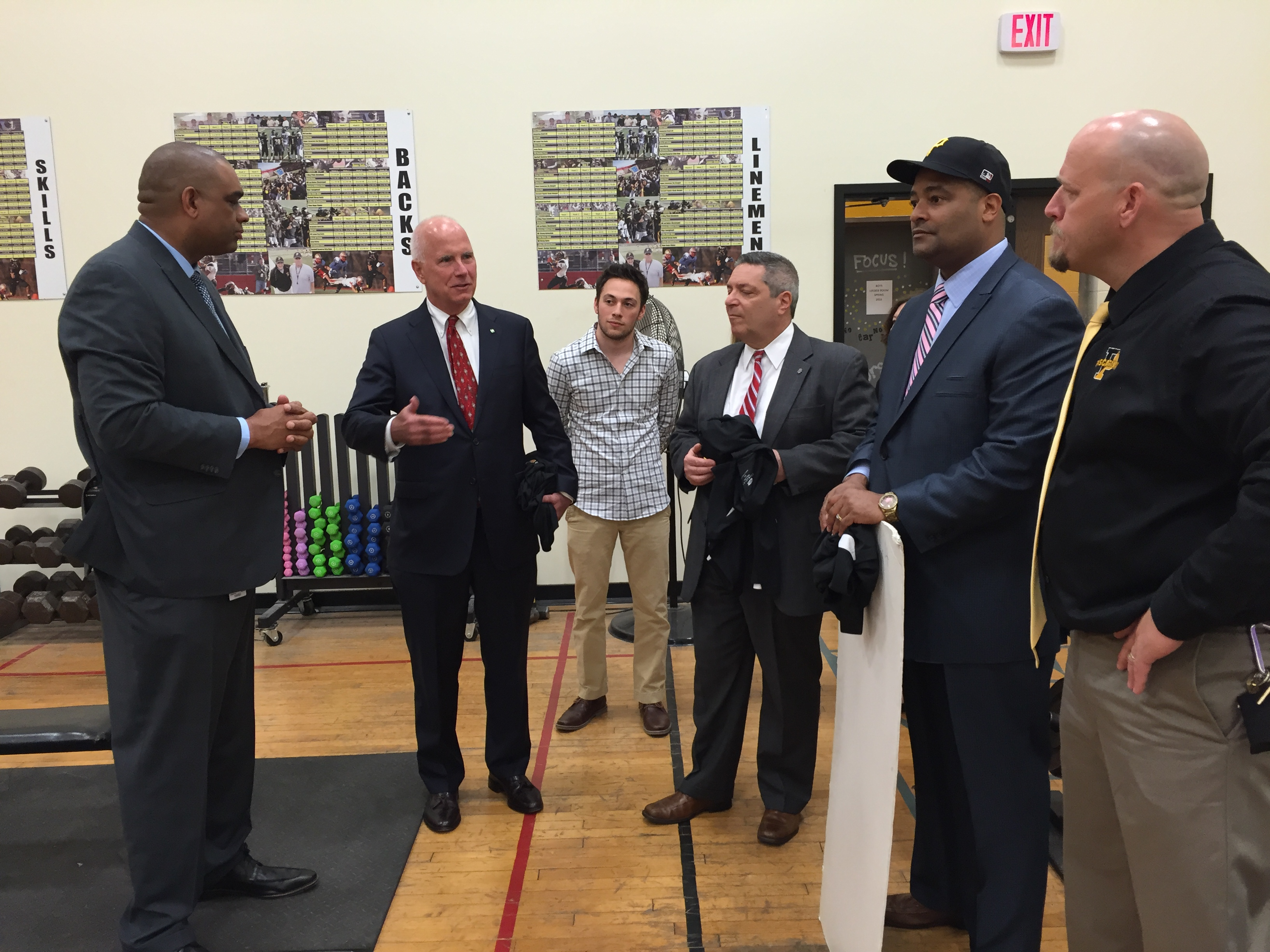 Investors Bank Invests in Student Fitness at Piscataway High ...