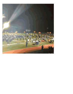SPF Raiders Marching Band Under The Lights, photo 2